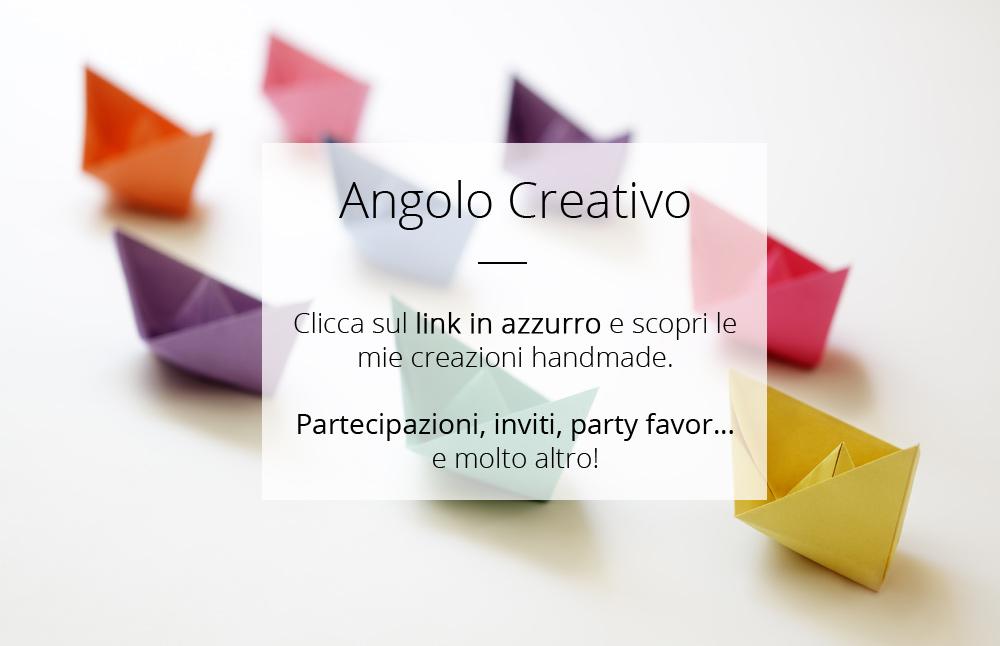 Angolo creativo: progetti handmade realizzati in carta e cartoncino