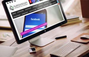 Sito Alground: versione desktop del sito web