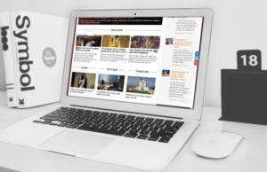 Creazione sito Expoitalyart: versione per pc portatili