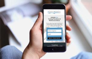 Landing Page ActivityMed: versione per smartphone