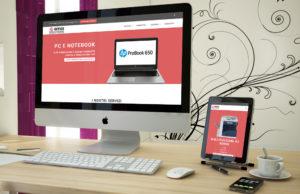 Aggiornamento sito Office Solutions: versione per pc desktop e tablet