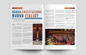 Layout grafico Scripta Manent: dossier sulla riforma costituzionale