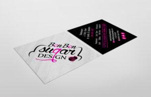 Bonbon Sugar Design immagine coordinata: biglietto da visita