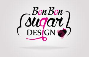 Bonbon Sugar Design immagine coordinata: logo virtuale per sito web