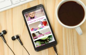 Bonbon Sugar Design website: versione per smartphone