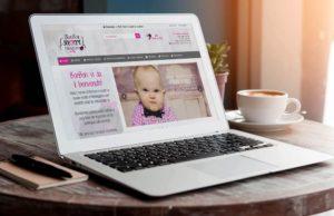 Bonbon Sugar Design website: versione per computer portatili