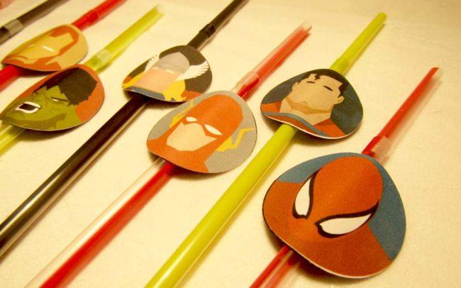Tra i personaggi delle Cannucce SuperHeroes anche Spiderman